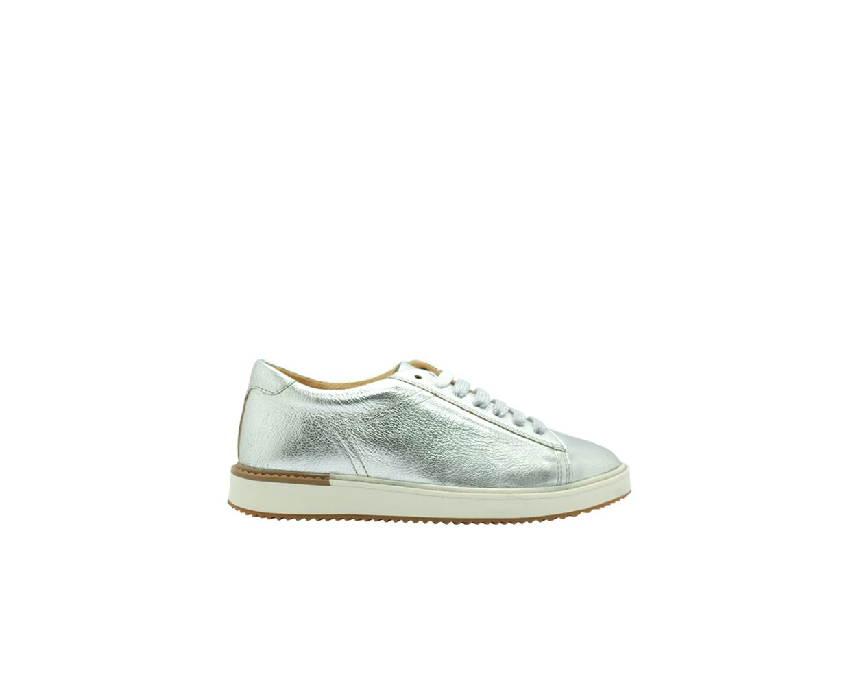 hush puppies silver shoes