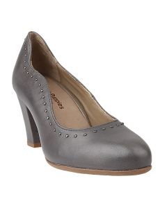 Hush Puppies Meaghan Stud Pump In Grey