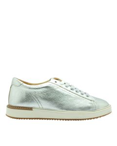 Hush Puppies Sabine Sneaker In Silver