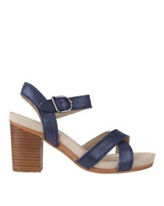 Hush Puppies Mariska Buckle Qtr In Navy