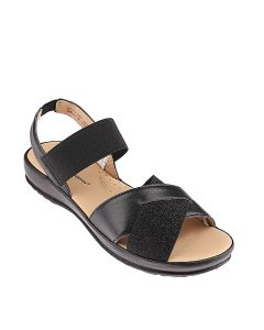 Hush Puppies Dorothy Tania In Black