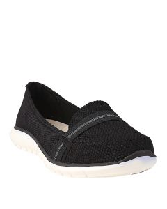 Hush Puppies Tricia Band Slip In Black