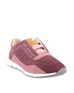Hush Puppies Cesky Knit Elastic In Mauve
