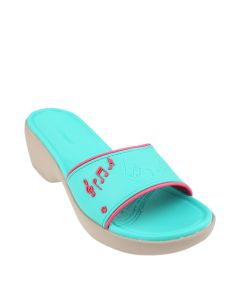 Hush Puppies Melody Slip On In Turquoise