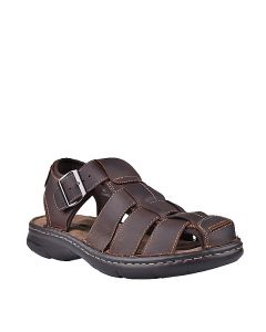 Hush Puppies Neil In  Dark Brown