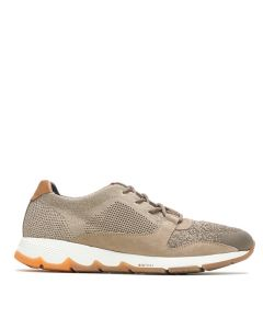 Hush Puppies TS Field Knit Lace In Taupe