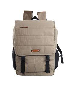 Caddy - Flap Backpack Beige