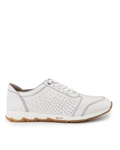 Hush Puppies Cesky Perf Oxford In White