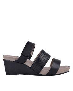Enni Cassale Black Leather