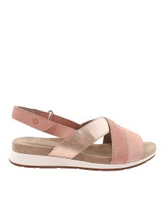 Hush Puppies Pepper Slingback In Pale Peach