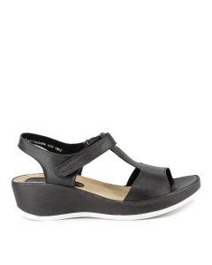 Hush Puppies Audrey Wanda T-Bar In Black